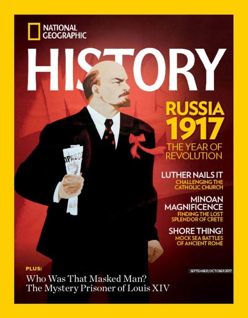 National Geographic HistoryMagazine for only $16.95 per year (52% off)!
