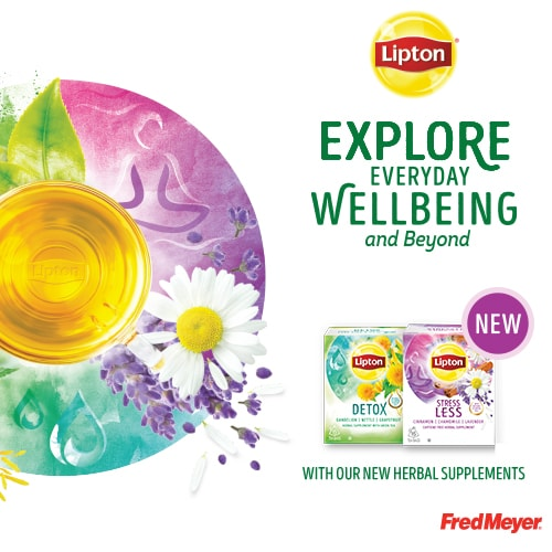 #SipIntoSomethingNew – Try Lipton Detox & Stress Less Teas For A Perfect Fall Drink!