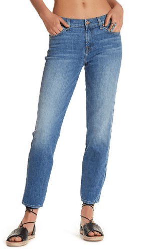 7 For All Mankind Roxanne Ankle Original Skinny Jeans