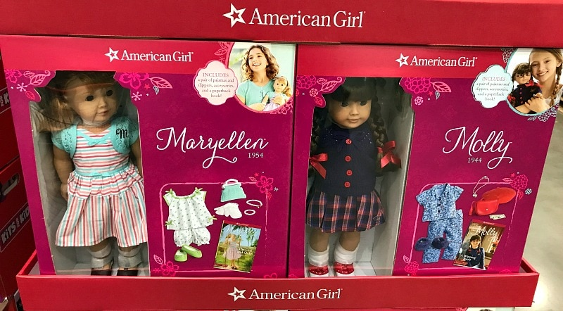 American Girl Dolls at Costco