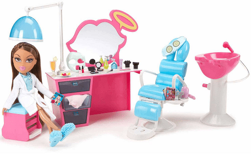 Bratz sleepover spa and hair studio reg for Yasmin beauty salon