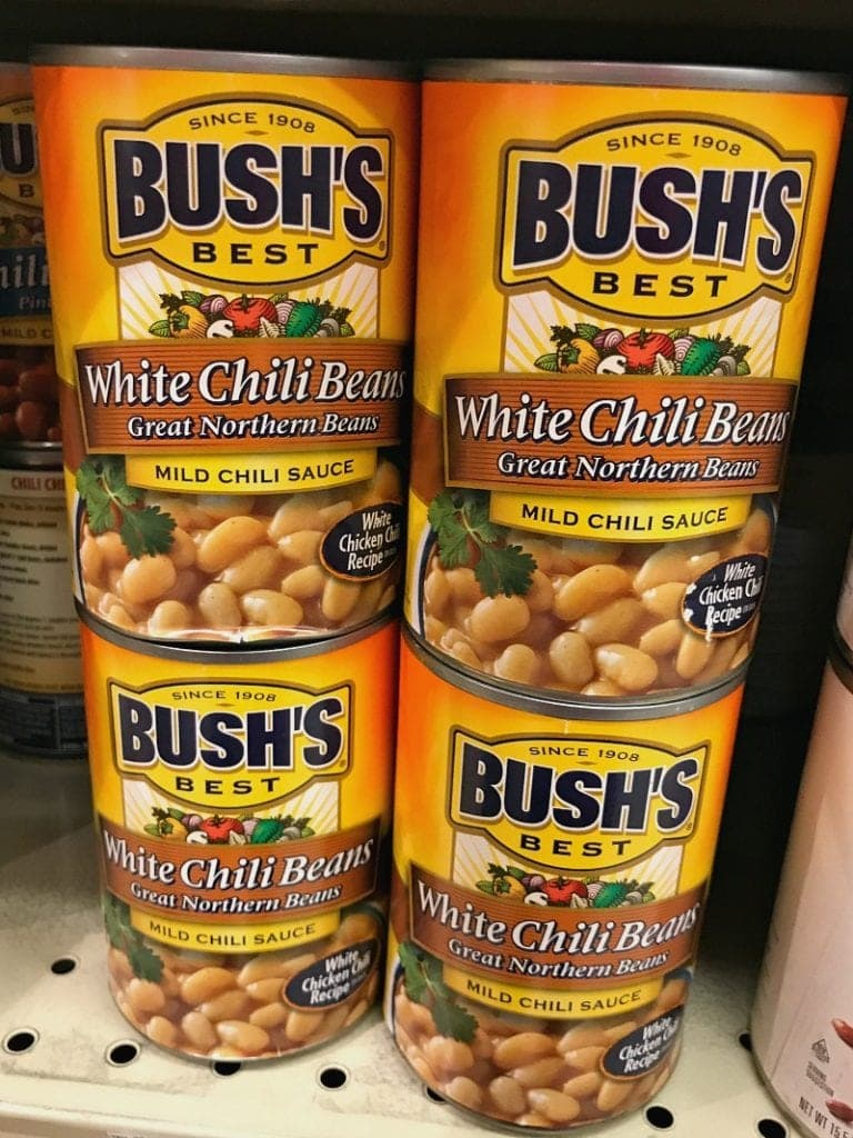 Bush's White Chili Beans at Walmart