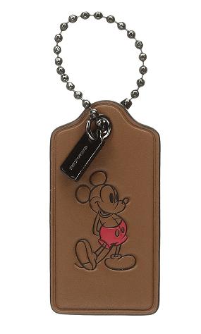 COACH Box Program Mickey Hangtag Key Fob $16.50 (Reg $30)
