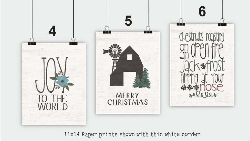 Rustic Christmas Prints Just $3.99 Each! (Up to 12×16 Sizes Too)!