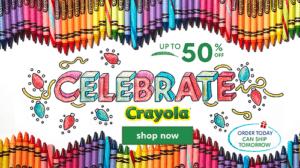 Crayola Products Sale