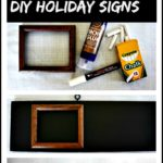Simple DIY Countdown to the Holidays Sign