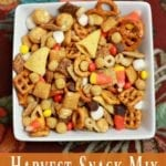 Harvest Snack Mix - Perfect Snack for Fall Parties