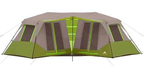 Ozark Trail 23′ x 11'6″ Instant Double Villa Cabin Tent $109 (Reg $240)