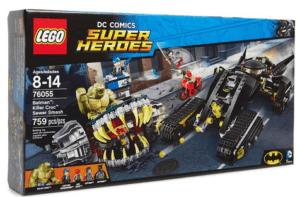 LEGO DC Comics Super Heroes Batman: Killer Croc Sewer ...
