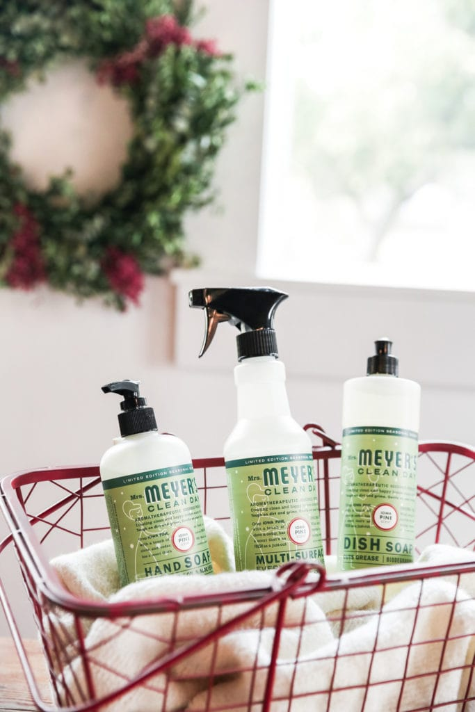 Natural Cleaning Supplies Discount for Holiday Scents