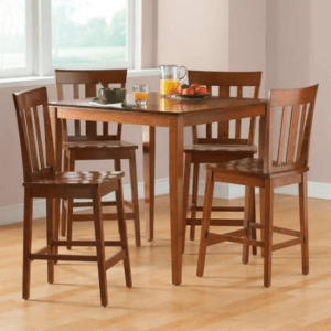 Mainstays 5-Piece Counter-Height Dining Set