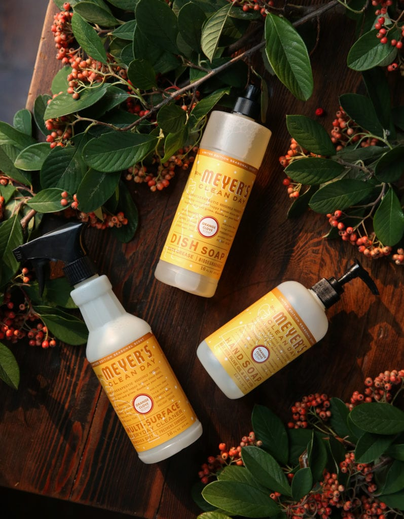 Mrs Meyers Holiday Scents Cleaning Supply Sale