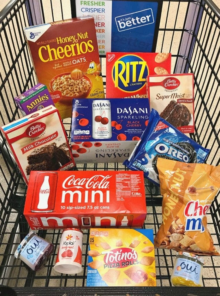 Participating Items for Stock Up Sale Sweepstakes