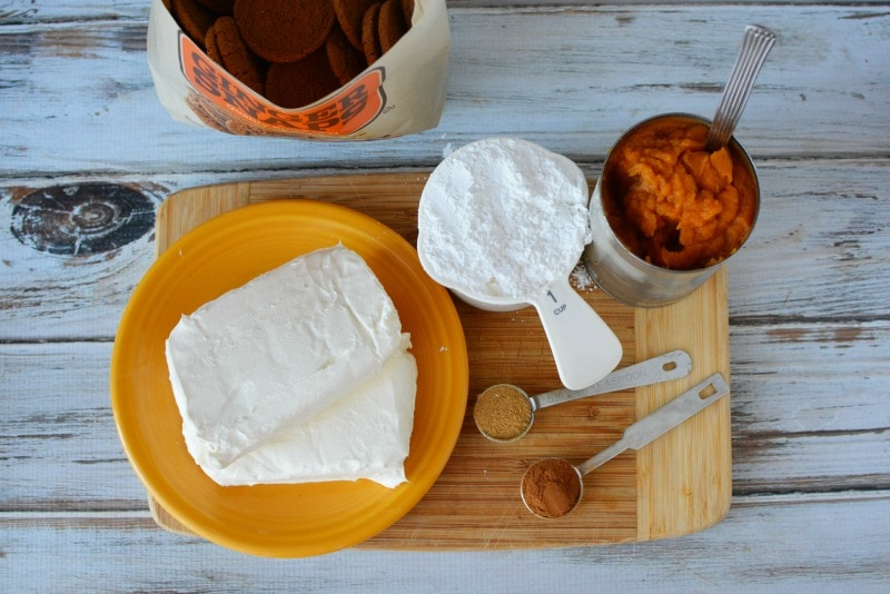 Pumpkin Dip Ingredients