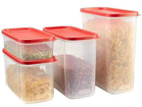 Rubbermaid Modular Canisters, Food Storage Container 8-piece Set