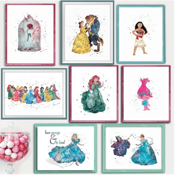 Disney Art Prints from Simply Enchanted – Just $3.27