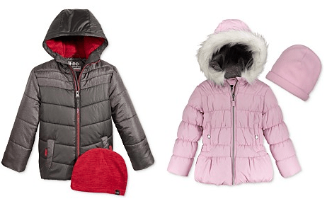 Kids Winter Coats On Sale – Puffer Jackets – $17.59 or Buy 2 for $16.99/ea