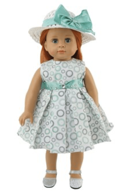 18 Doll Dress & Hat