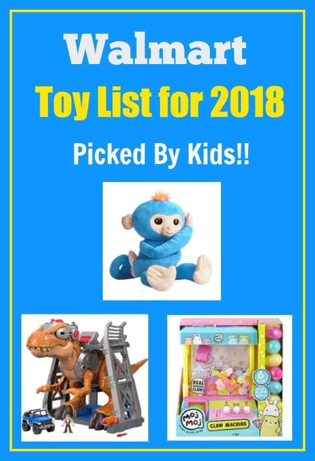 walmart toy list 2018 top 40 toys picked by kids - Walmart Toys For Christmas