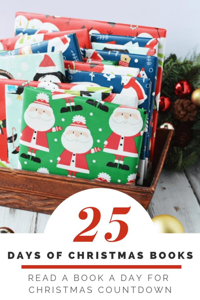 25 Days of Christmas Books – Christmas Countdown Activity with Free Printable of Christmas Book Lists & Blank List!