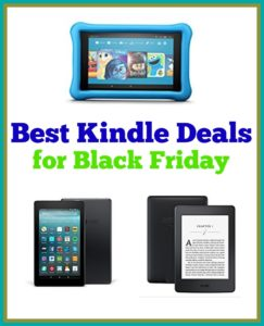 Best Kindle Deals for Black Friday