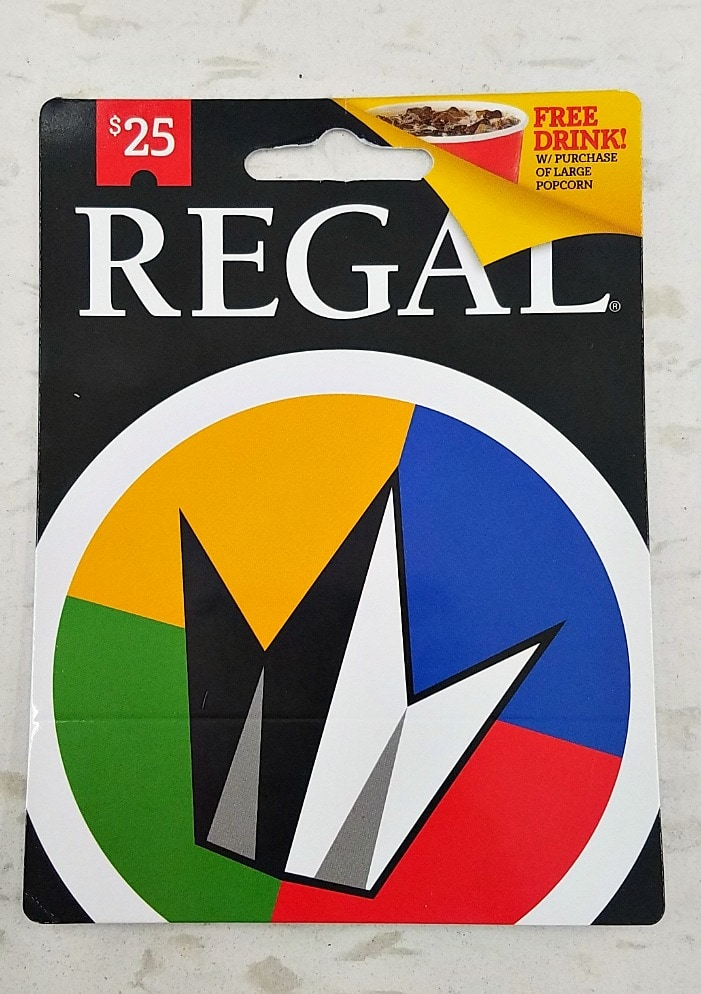 Bonus Regal Gift Card at Walmart