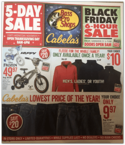 Cabelas Black Friday Deals