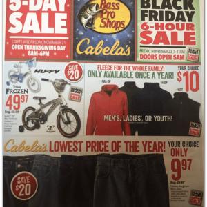 Cabelas Black Friday Deals