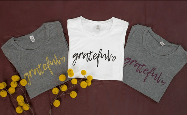 Free Grateful Tee With $29.95 Purchase