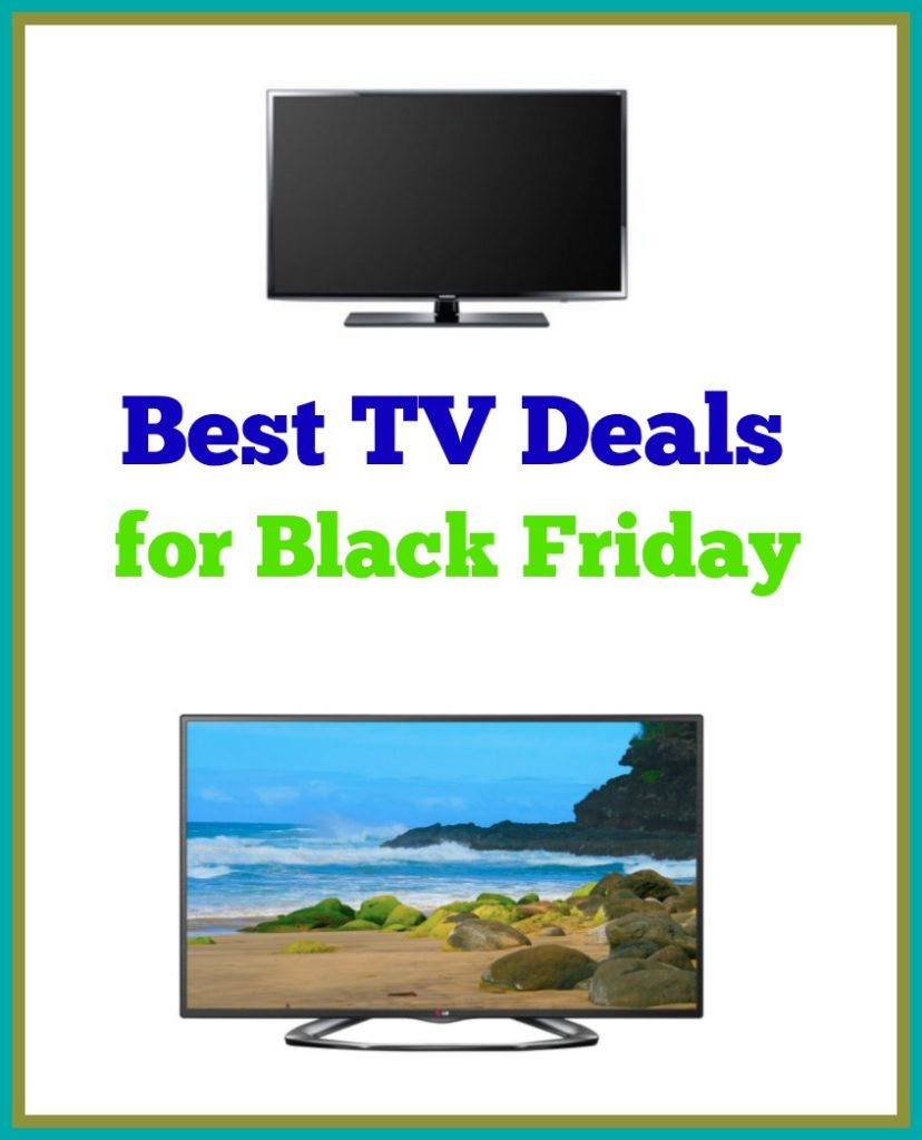 Hot Deals on TVs for Black Friday