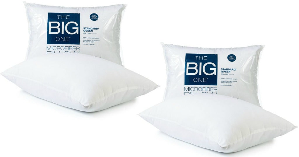 Kohls The Big One Queen or Standard Pillows Just $2.71!!