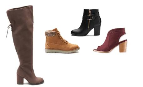 Boots at Kohls + Extra 15