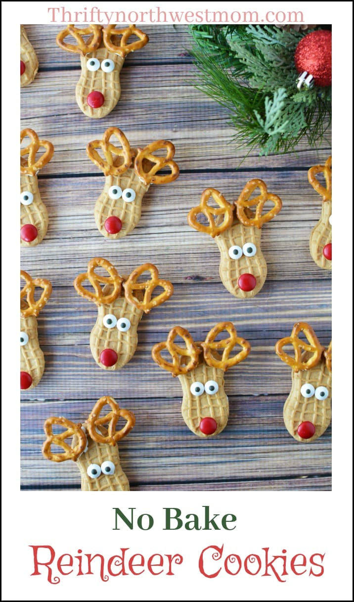 No Bake Reindeer Cookies So Cute