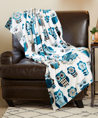 SL Home Fashions Marlene Throw 40740 Reg 5404040 Today Only Impressive Sl Home Fashions Throw Blanket