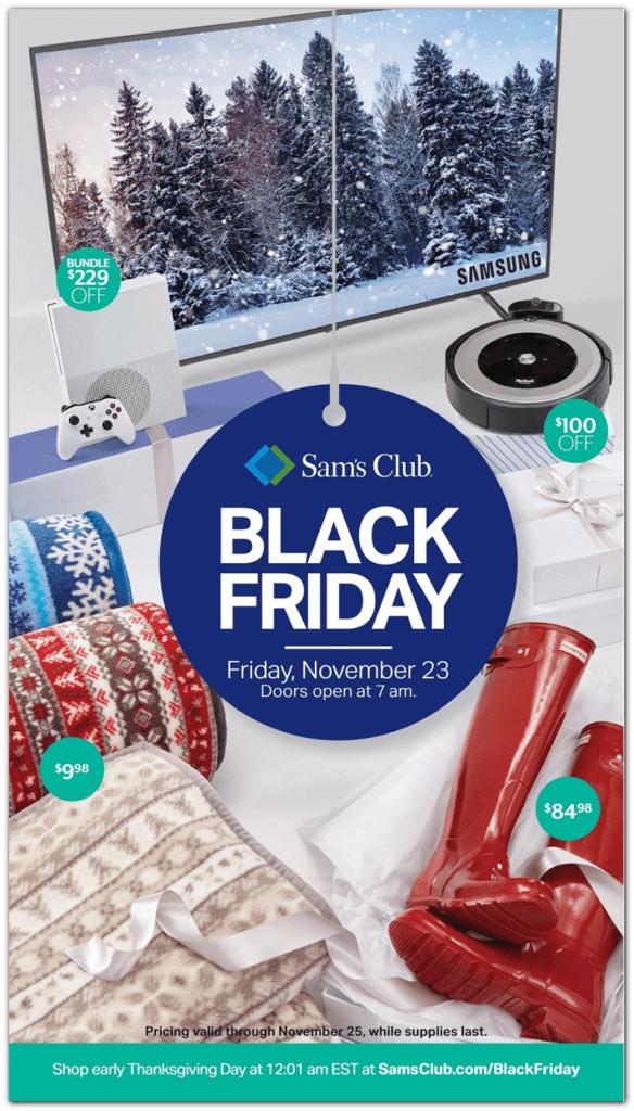 Sam's Club Black Friday Deals for 2018!