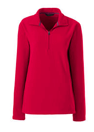 Lands End Half Zip Fleece Pullovers