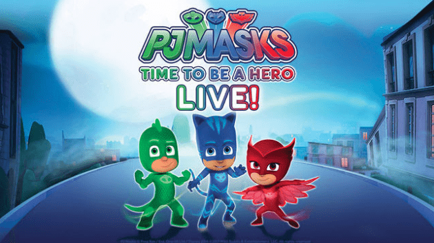 PJ Masks Live Discount Tickets for Seattle  and Portland Shows – Prices start at $12!
