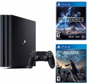 Playstation 4 Pro 1TB console 2 game bundle