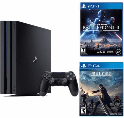 Playstation 4 Pro 1TB console 2 game bundle