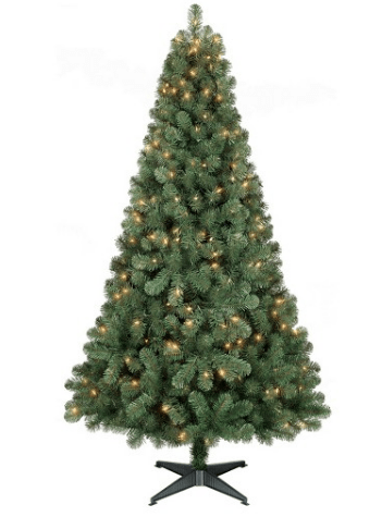 Artificial Christmas Tree Sale – 6 Ft Pre-Lit Alberta Spruce for $28.49 Shipped (+ $25 off $75 Too)!