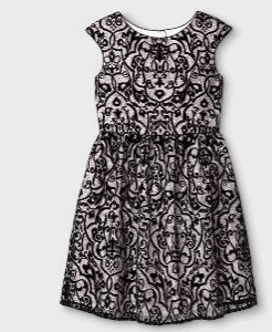 Girls Printed Dressy Dress