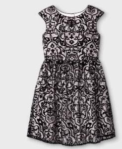 girls printed dressy dress