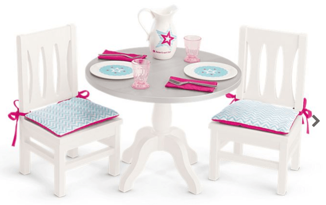 American Girl Dining Table & Chairs