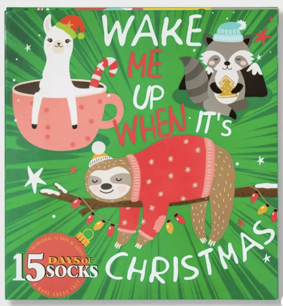 Target 15 Days of Socks