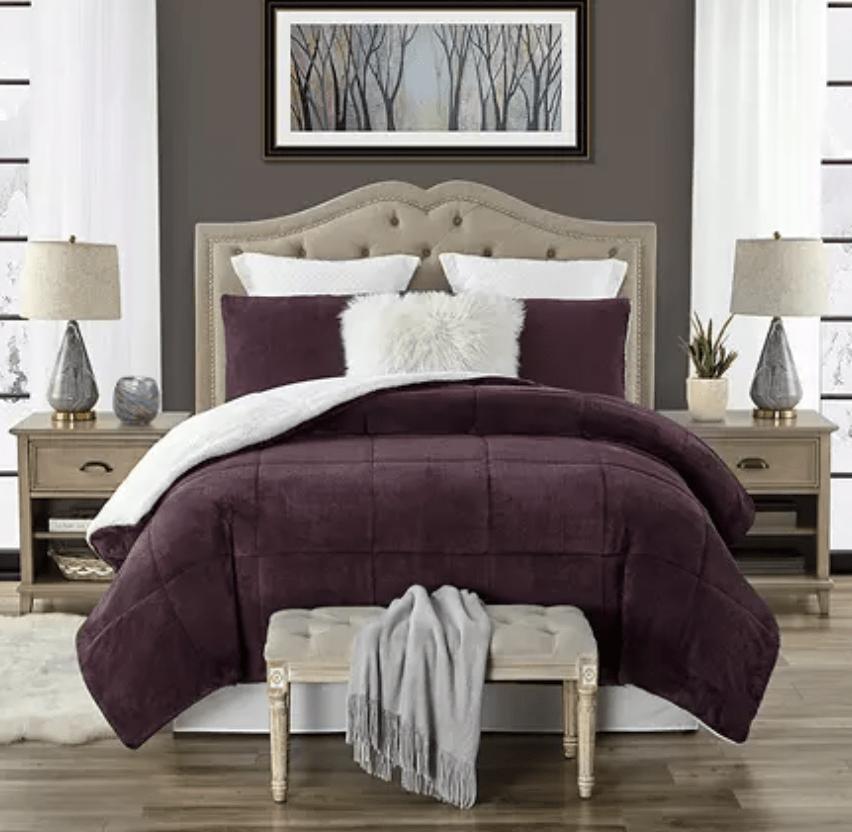 Sams Club Sherpa Comforter