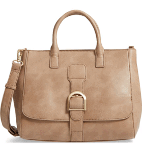 Sole Society Zola Faux Leather Satchel