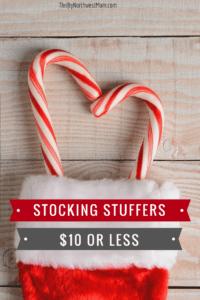 Stocking Stuffer Ideas - $10 or less