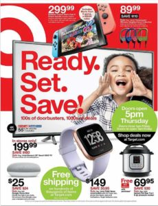 Target Black Friday Ad Scan