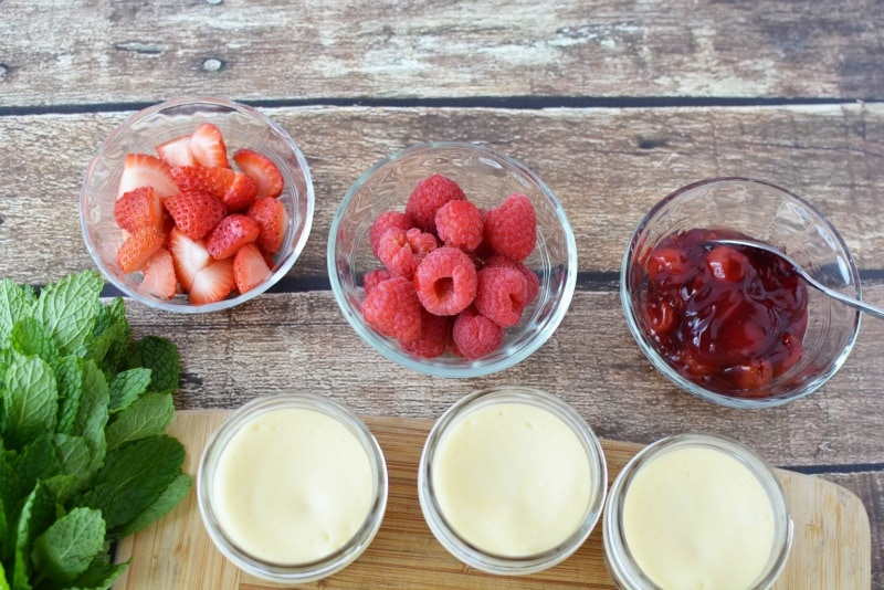 Toppings for Cheesecake in a Jar recipe