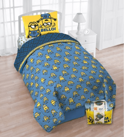 """Despicable Me Minions """"Multiple Minions"""" Twin Bed in a Bag $23.50 (Reg $45.98)"""